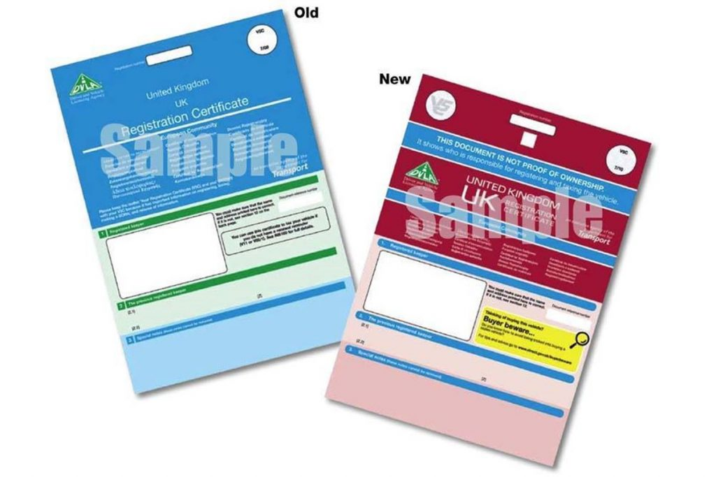 What Is The V5 Certificate Or Logbook